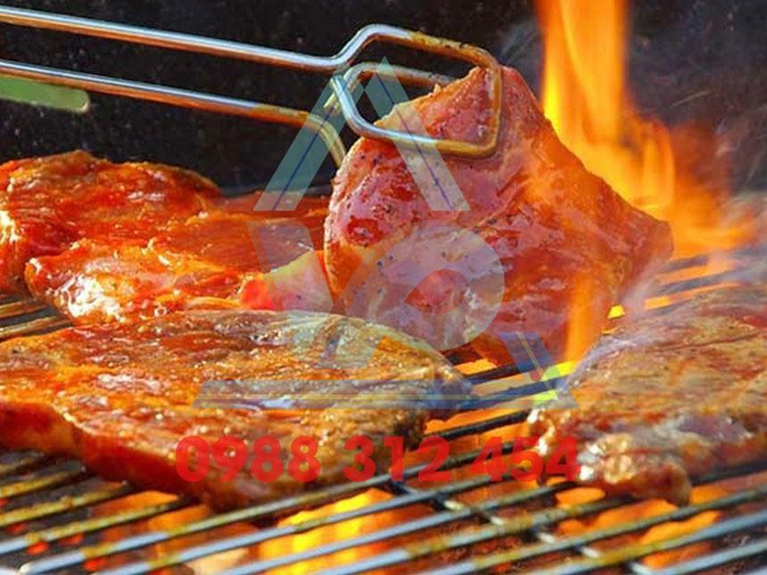 Lò nướng than BBQ