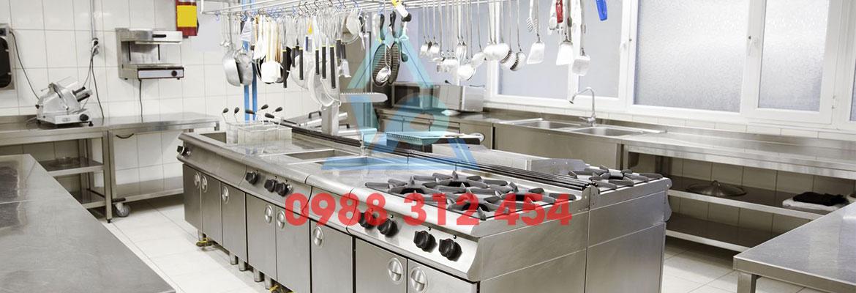 Ứng dụng rông rãi của thiết bị bếp âu 4 họng chân cao